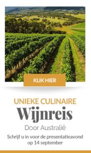 Wijnreis Australië banner