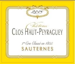 Clos Haut Peyraguey 2005