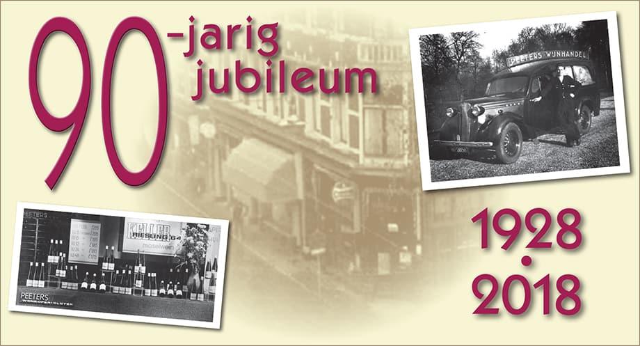 90-jarig jubileum Wijnhandel Peeters
