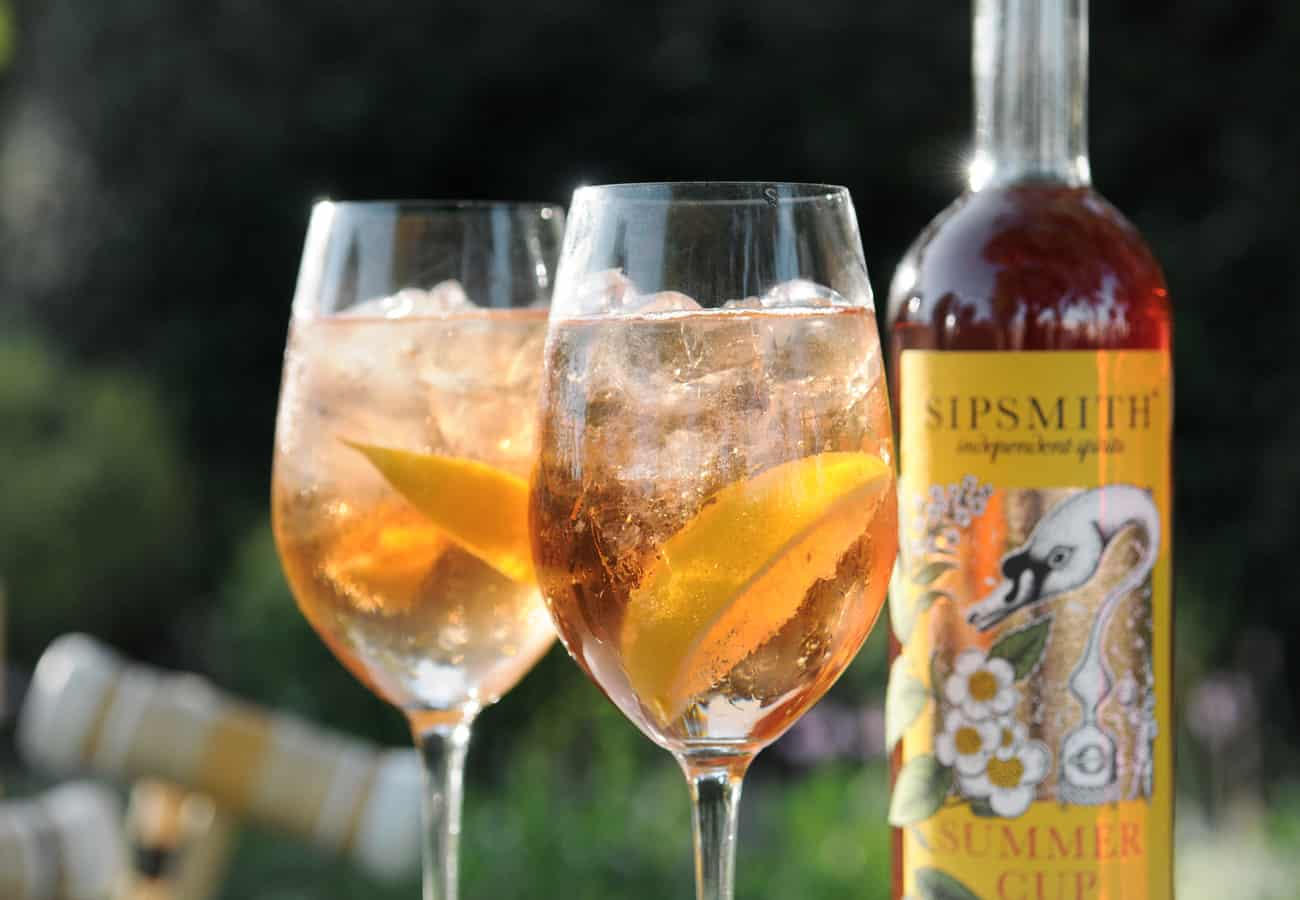 Sipsmith Summer Cup serve