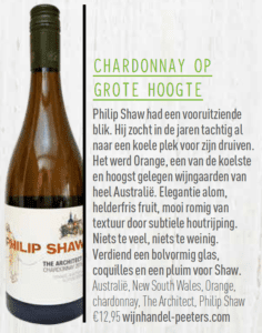 Delicious Magazine: chardonnay op grote hoogte