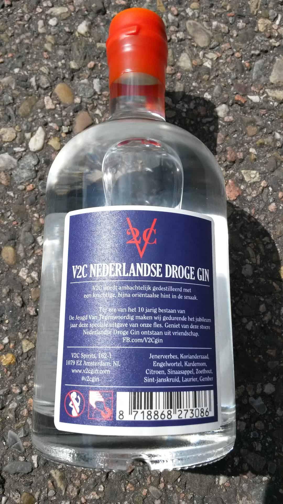 fles achter DJVT