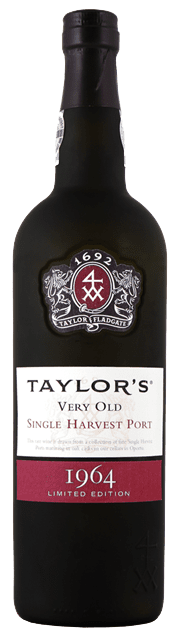 Taylor's Single Harvest Tawny Port 1964